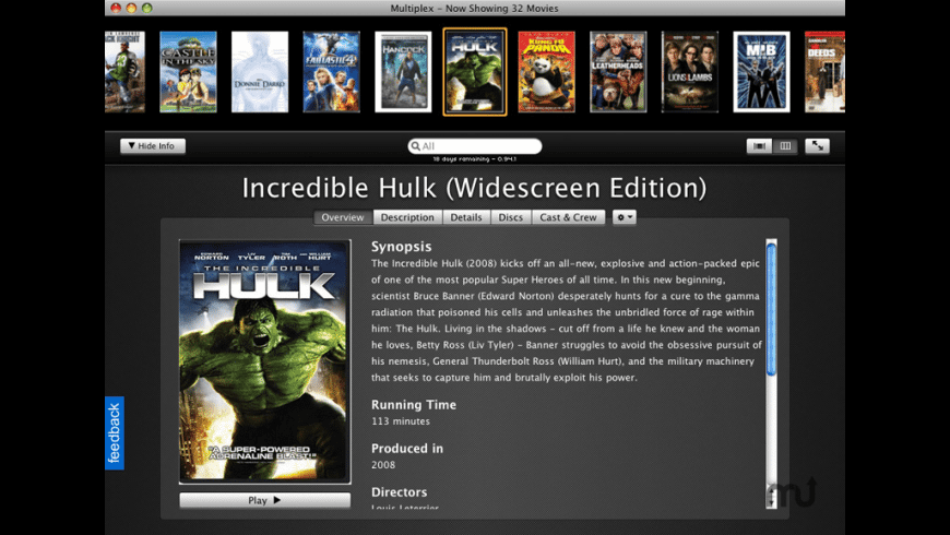 Multiplex for Mac - review, screenshots