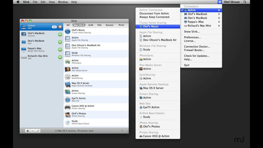 Slink Family Pack (5 Users) for Mac - review, screenshots