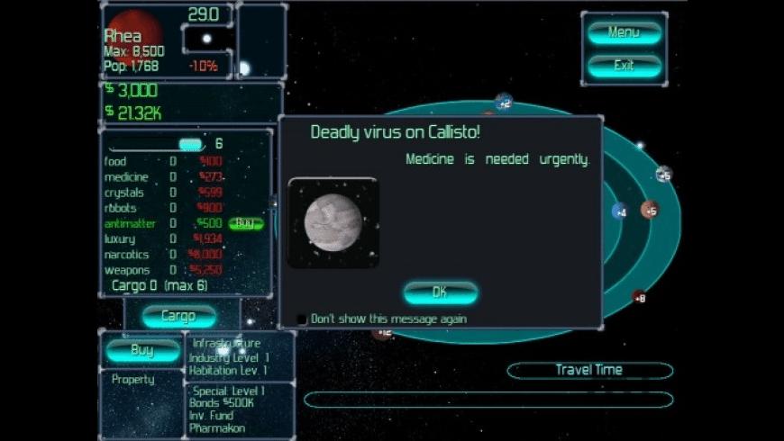 Orbital Trader for Mac - review, screenshots
