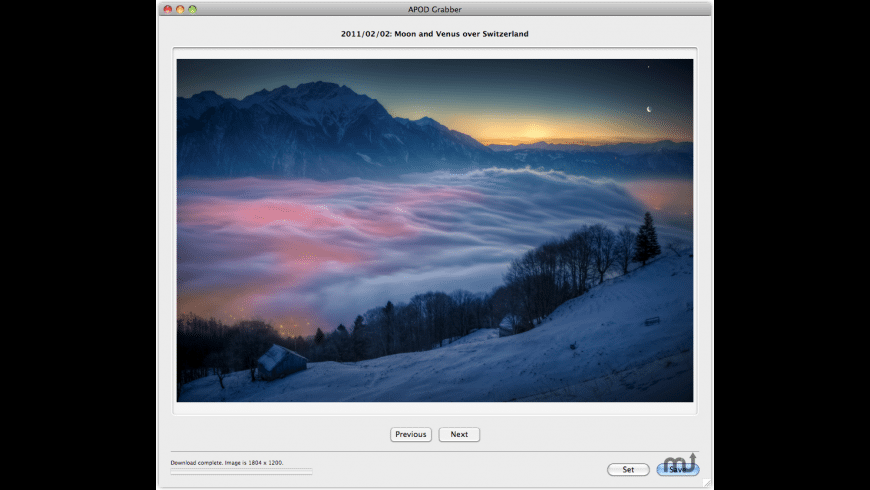 APOD Grabber for Mac - review, screenshots