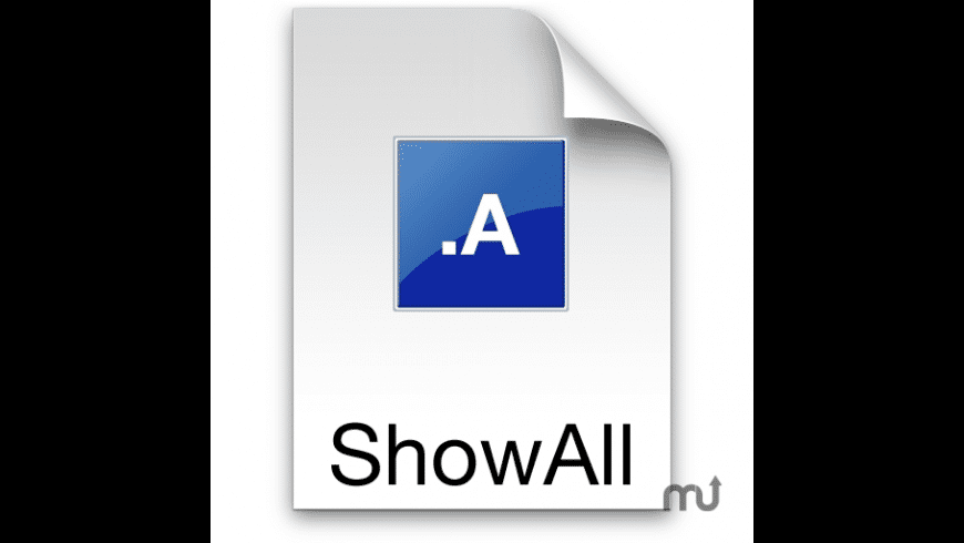 ShowAllFiles for Mac - review, screenshots