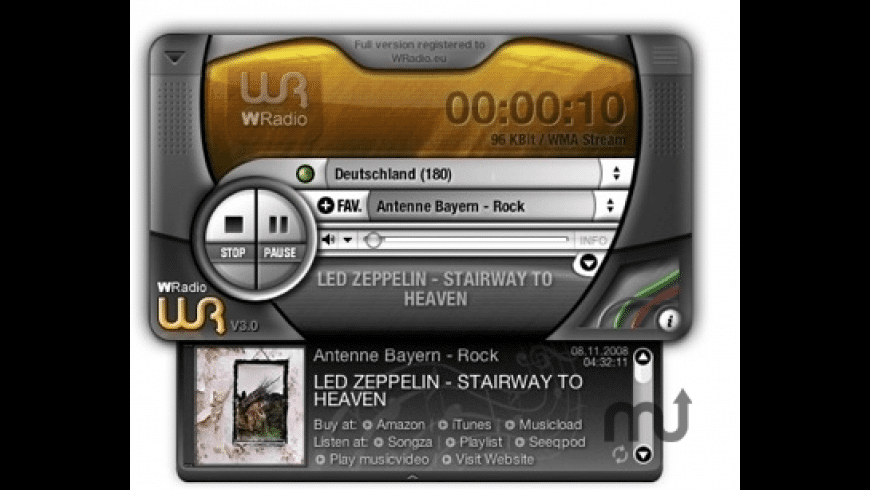 WRadio for Mac - review, screenshots