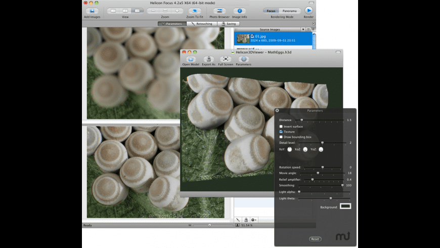 Helicon Focus for Mac - review, screenshots