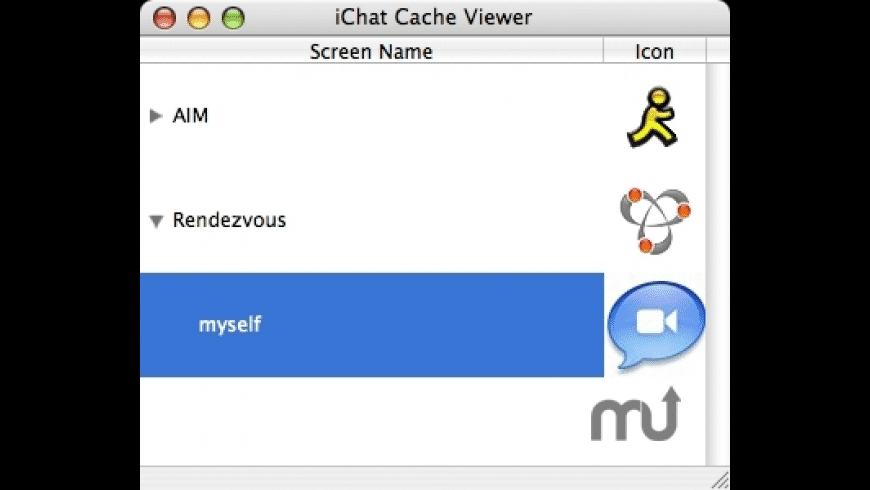 iChat Cache Viewer for Mac - review, screenshots