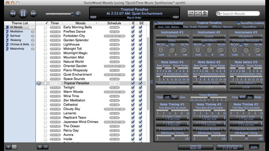 SonicMood for Mac - review, screenshots