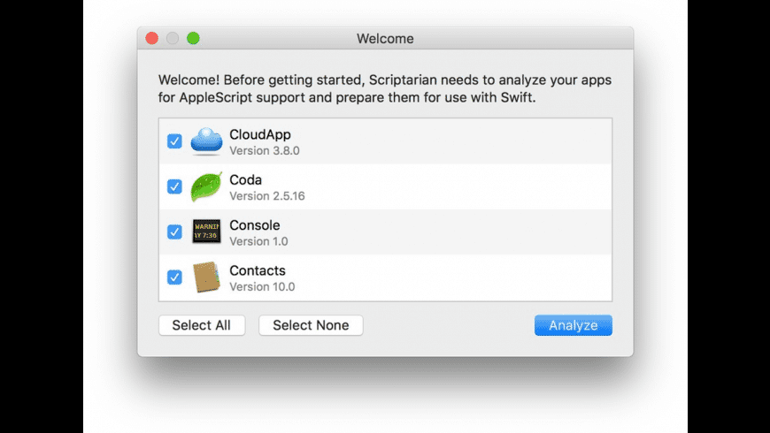 Scriptarian for Mac - review, screenshots