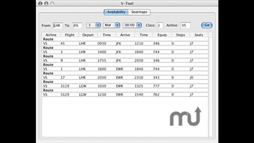 V-Tool for Mac - review, screenshots