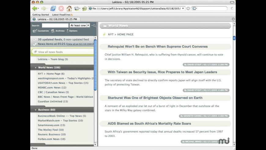Lektora for Mac - review, screenshots
