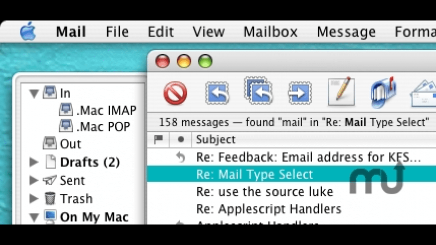 Mail Type Select for Mac - review, screenshots