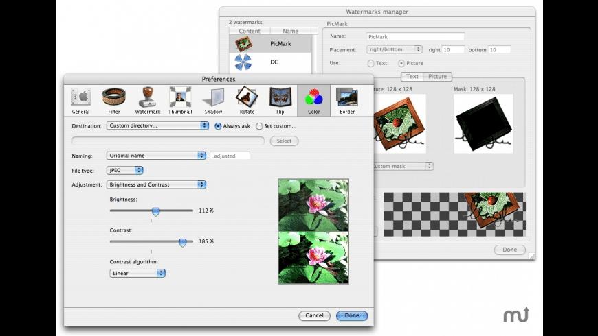 PicMark for Mac - review, screenshots