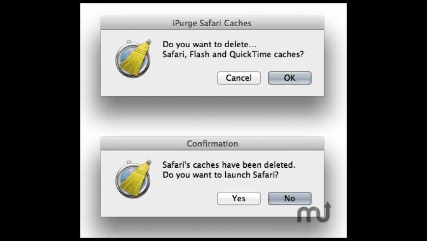 iPurge Safari Caches for Mac - review, screenshots