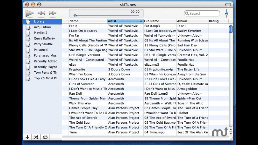 skiTunes for Mac - review, screenshots