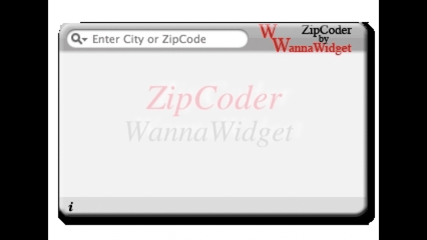 ZipCoder for Mac - review, screenshots