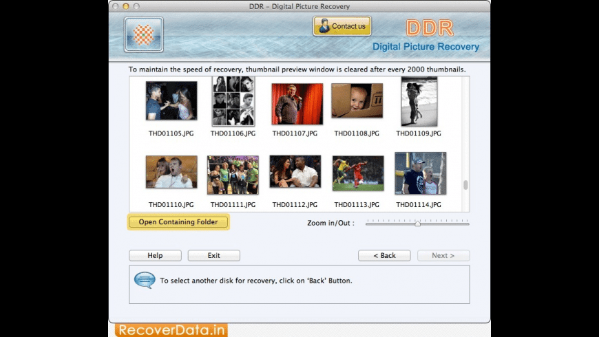 DDR - Digital Picture Recovery for Mac - review, screenshots