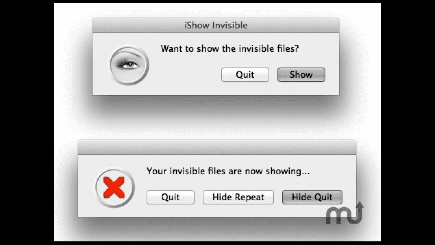 iShow Invisible for Mac - review, screenshots