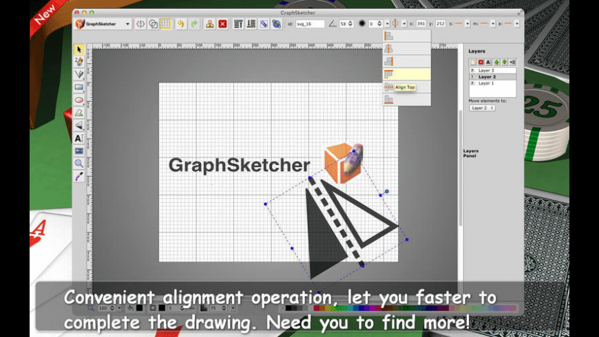 GraphSketcher for Mac - review, screenshots