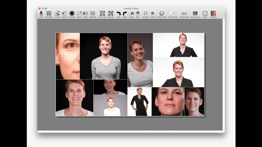 cf/x collage for Mac - review, screenshots