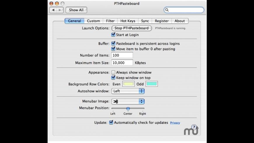 PTHPasteboard Pro for Mac - review, screenshots