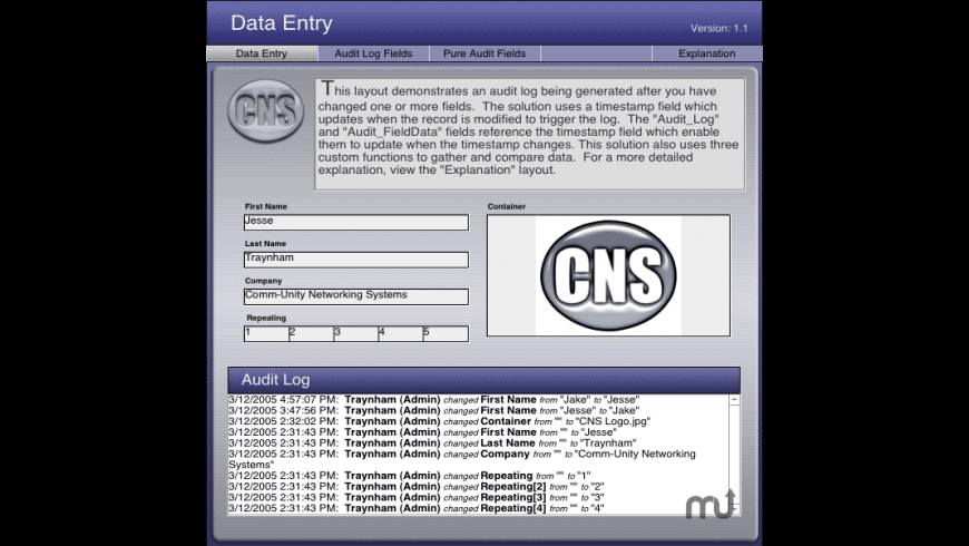 CNS Audit for Mac - review, screenshots
