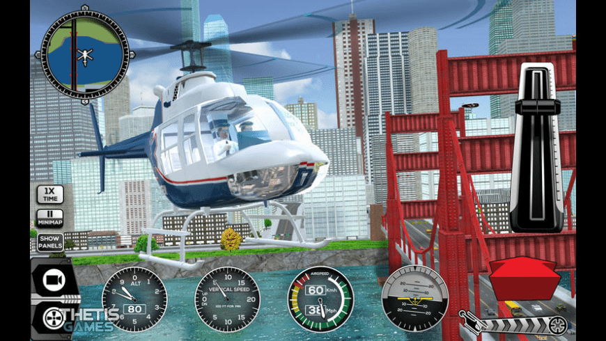 Helicopter Simulator Premium for Mac - review, screenshots