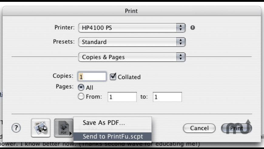 PrintFu Service for Mac - review, screenshots