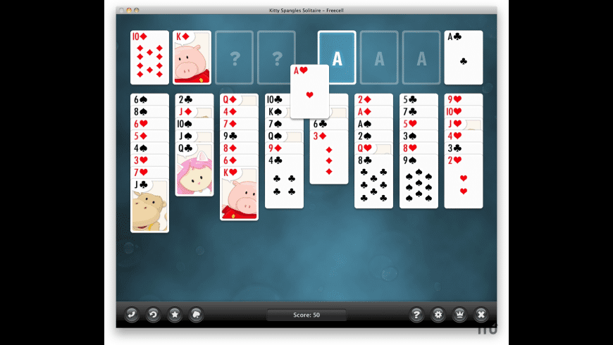 Kitty Spangles Solitaire for Mac - review, screenshots