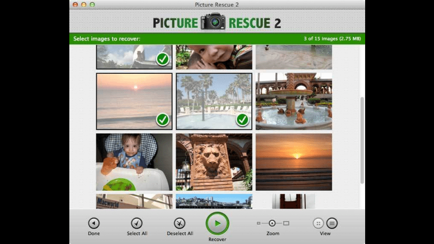 Picture Rescue for Mac - review, screenshots