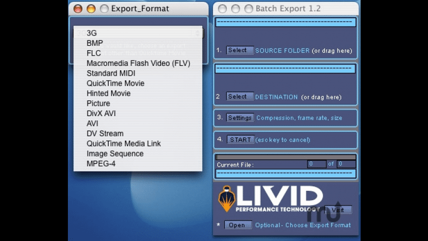 Livid BEU for Mac - review, screenshots