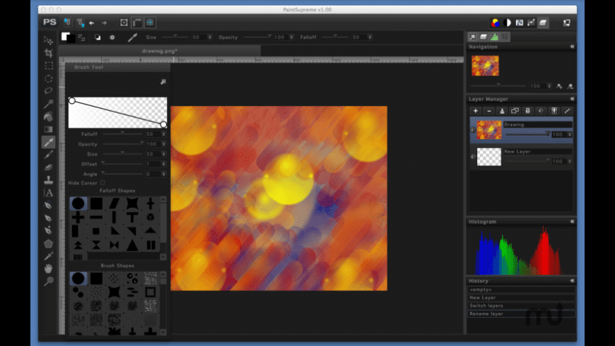 PaintSupreme for Mac - review, screenshots