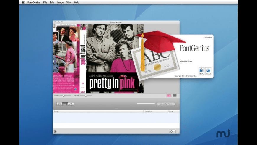 FontGenius for Mac - review, screenshots
