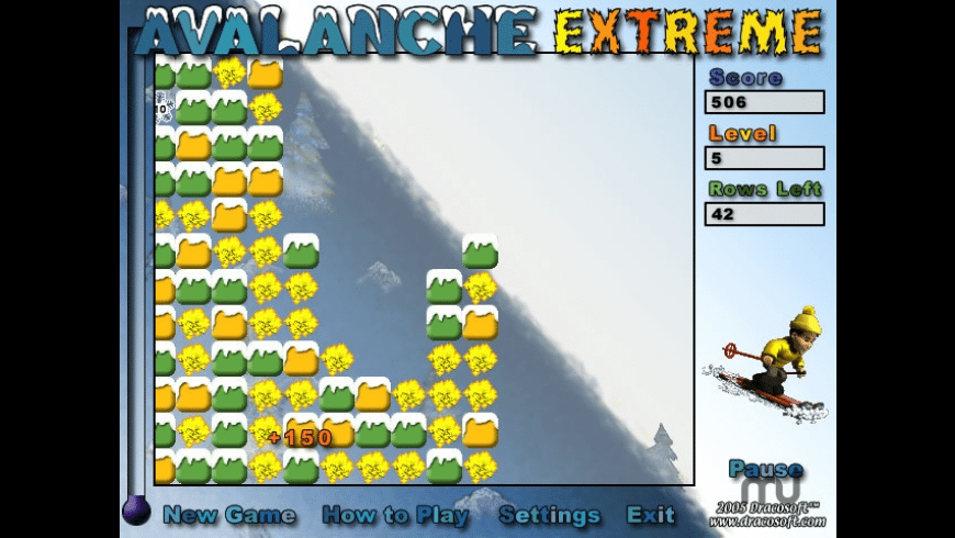 Avalanche Extreme for Mac - review, screenshots
