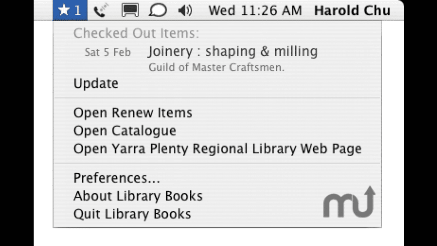 Library Books for Mac - review, screenshots
