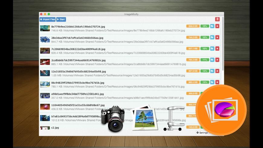 ImageMinify for Mac - review, screenshots