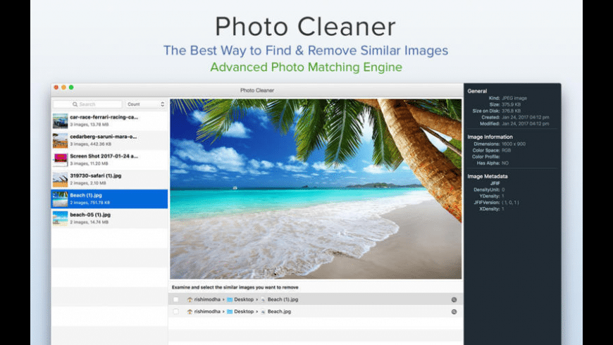 Photo Cleaner for Mac - review, screenshots