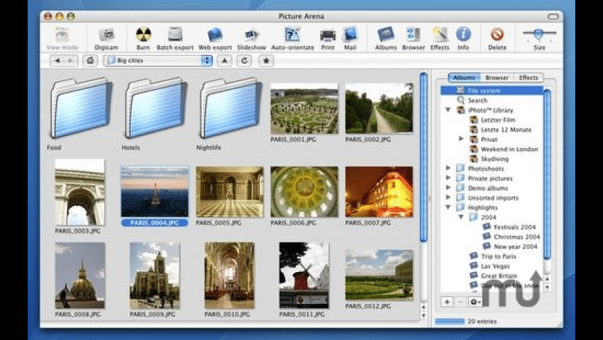 Picture Arena for Mac - review, screenshots