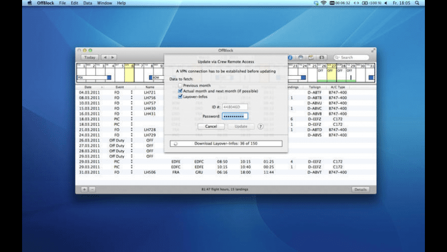 OffBlock for Mac - review, screenshots