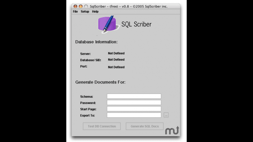 SqlScriber for Mac - review, screenshots