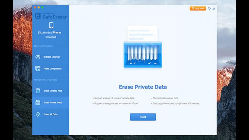 Wondershare SafeEraser for Mac - review, screenshots