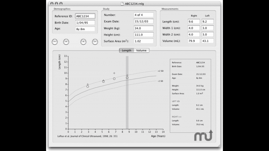 Renal Growth for Mac - review, screenshots