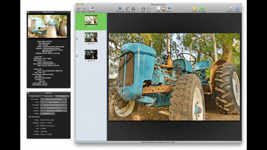 HDRtist Pro for Mac - review, screenshots