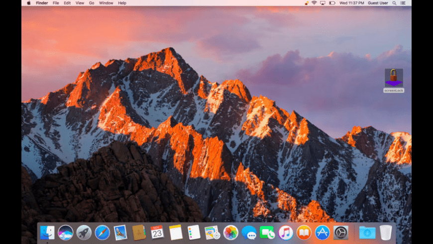 screenLock for Mac - review, screenshots