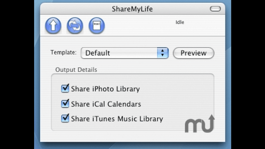 ShareMyLife for Mac - review, screenshots