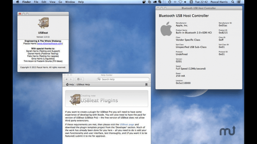 USBleat for Mac - review, screenshots