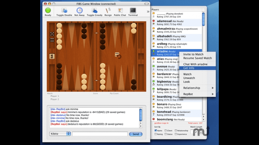 CocoaFIBS for Mac - review, screenshots