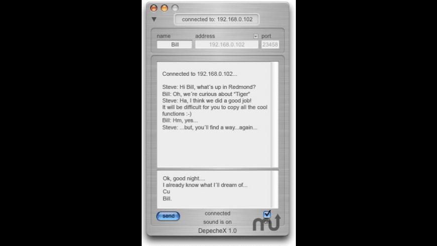 DepecheX for Mac - review, screenshots