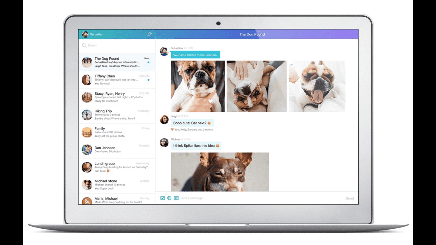 Yahoo! Messenger for Mac - review, screenshots