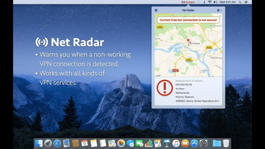 Net Radar for Mac - review, screenshots