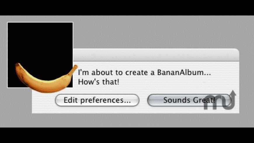 BananAlbumCreator for Mac - review, screenshots