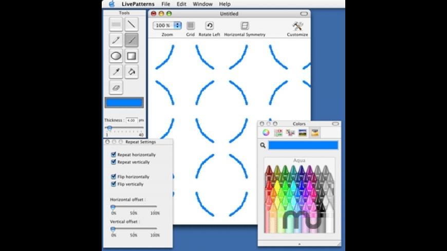 LivePatterns for Mac - review, screenshots