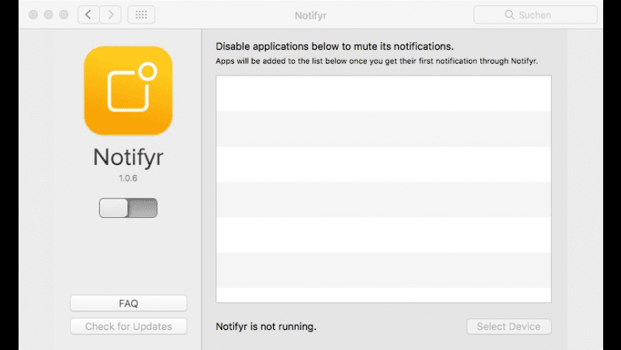 Notifyr for Mac - review, screenshots